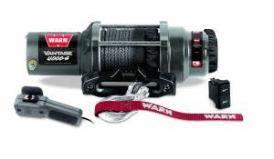 Winch & Recovery - Winches - Warn - Warn 12 Volt DC Battery 4000 LB Cap 50 Ft Synthetic Rope 89041