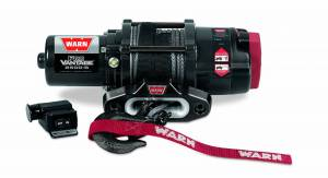 Winch & Recovery - Winches - Warn - Warn 12 Volt DC Battery 2500 LB Cap 50 Ft Synthetic Rope 90251