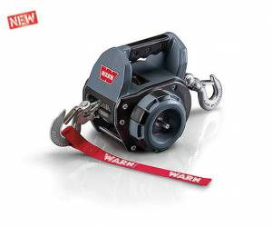 Winch & Recovery - Winches - Warn - Warn Handheld Portable Powered By Standard Portable Drill 500 LB Cap 30 Ft Wire Rope 910500