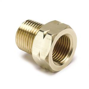 "Apparel & Accessories - Misc. Hardware - AutoMeter - AutoMeter FITTING, ADAPTER, 3/8"" NPT MALE, BRASS, FOR AUTO GAGE MECH. TEMP. 2370"