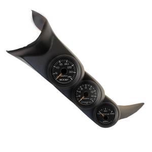 Electrical - Gauges & Pods - AutoMeter - AutoMeter DSL GAUGE KIT, A-PILLAR, GM 01-07, BST/EGT/TRANS, 35PSI/1600?F/250?F, FACT MATCH 7086