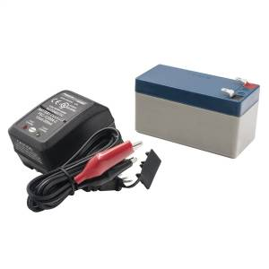 AutoMeter - AutoMeter BATTERY PACK AND CHARGER KIT, 12V, 1.4AH 9217