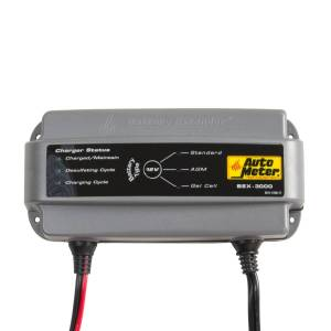 Apparel & Accessories - Tools & Shop Equipment - AutoMeter - AutoMeter BATTERY EXTENDER, 12V/3A BEX-3000