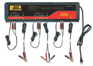 AutoMeter - AutoMeter 6 STATION CHARGER, 5 AMPS/STATION, 120V, AGM BUSPRO-660