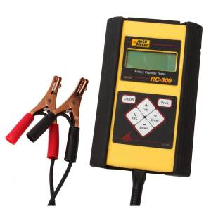 Apparel & Accessories - Tools & Shop Equipment - AutoMeter - AutoMeter 4-50AH BATTERY CAPACITY TESTER, HANDHELD RC-300