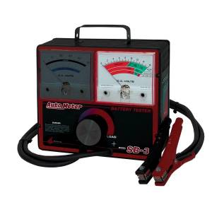 Apparel & Accessories - Tools & Shop Equipment - AutoMeter - AutoMeter BATTERY TESTER, 500 AMP FOR 12 VOLT SYSTEMS SB-3