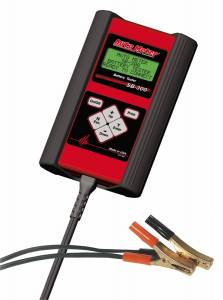 Apparel & Accessories - Tools & Shop Equipment - AutoMeter - AutoMeter BATTERY TESTER HANDHELD SB-300