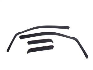EGR EGR in-channel window visors front/rear set dark smoke finish 571671