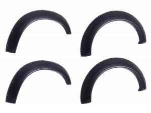 EGR EGR bolt-on look fender flare set matte black finish level 1 791525