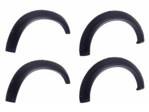 EGR - EGR EGR bolt-on look fender flare set matte black finish level 2 792755