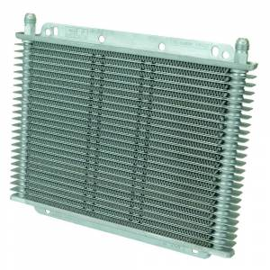 Transmissions & Parts - Automatic Transmission Parts - Flex-A-Lite - Flex-A-Lite TRANS OIL COOLER, 11in X 7-7/8in X 3/4in, 23 ROW, 3/8in BARB FG 400123