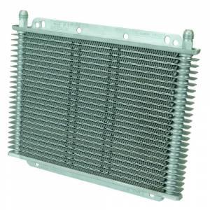 Flex-A-Lite TRANS OIL COOLER, 11in X 7-7/8in X 3/4in, 23 ROW, 3/8in BARB FG 400123