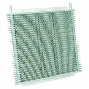 Transmissions & Parts - Automatic Transmission Parts - Flex-A-Lite - Flex-A-Lite TRANS OIL COOLER, 11in X 10in X 3/4in, 30 ROW, 3/8in BARB FG 400130