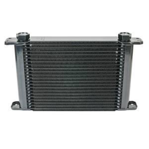 Flex-A-Lite - Flex-A-Lite ENGINE OIL COOLER, 11in X 7-1/2in X 1-1/2in, 21 ROW, 7/8-14 UNF FG 500021