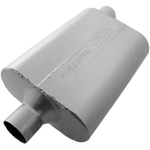 "Exhaust Components - Mufflers - Flowmaster - Flowmaster 40 Series Muffler - 2.25"" IN(C)/OUT(O) - Aggressive Sound 42442"