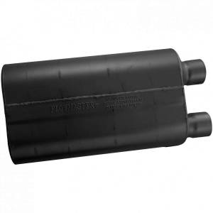 Exhaust Components - Mufflers - Flowmaster - Flowmaster 80 Series Muffler - 2.50 Offset In / 2.50 Same Side Out - Aggressive Sound 52580