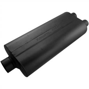 Exhaust Components - Mufflers - Flowmaster - Flowmaster 70 Series Muffler - 3.00 Center In / 2.25 Dual Out - Mild Sound 530722