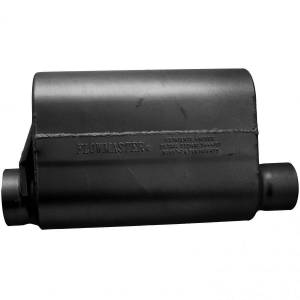 Exhaust Components - Mufflers - Flowmaster - Flowmaster Alcohol Race Muffler - 3.50 Offset In / 3.00 Same Side Out - Aggressive Sound 53545-10