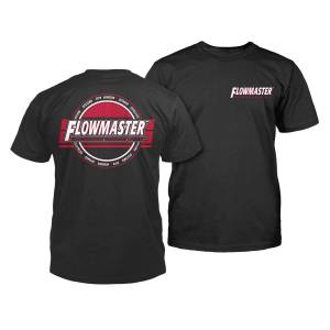 Apparel & Accessories - Shirts - Flowmaster - Flowmaster Technology Performance T-Shirt in Black - X-Large 610353