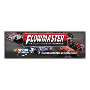 Apparel & Accessories - Misc. Accessories - Flowmaster - Flowmaster Nascar Banner 651702