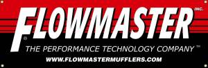 Apparel & Accessories - Misc. Accessories - Flowmaster - Flowmaster Flowmaster Large Banner 84 in. X 24 in. 651703