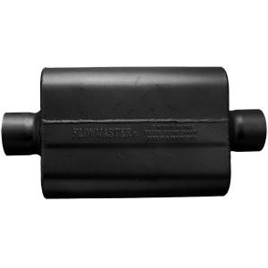 Exhaust Components - Mufflers - Flowmaster - Flowmaster 40 Delta Flow Muffler - 3.00 Center In / 3.00 Center Out - Aggressive Sound 943040