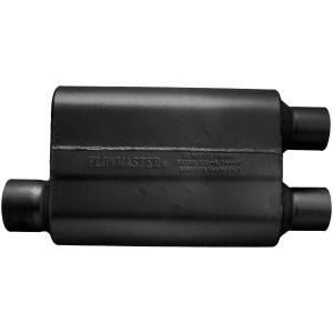 Exhaust Components - Mufflers - Flowmaster - Flowmaster 40 Delta Flow Muffler - 3.00 Offset In / 2.50 Dual Out - Aggressive Sound 9430412
