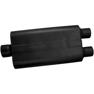 Exhaust Components - Mufflers - Flowmaster - Flowmaster 50 Delta Flow Muffler - 3.00 Center In / 2.50 Dual Out - Moderate Sound 9430502