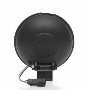 "Lighting - Off Road Lights - KC HiLiTES - KC HiLiTES 6"" Apollo Pro Halogen - Black - KC #1150 (Spot Beam) 1150"