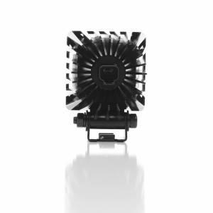 "Lighting - Off Road Lights - KC HiLiTES - KC HiLiTES 3"" LZR LED Cube Single Light - Black - KC #1310 (Spot Beam) 1310"