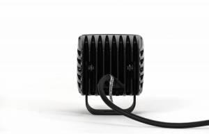 "KC HiLiTES - KC HiLiTES 3"" C-Series C3 LED Spot with Amber LED Black Single - #1315 1315 - Image 3"