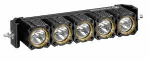 """Lighting - Off Road Lights - KC HiLiTES - KC HiLiTES 10"""" KC FLEX Array LED Light Bar System - Spot Beam - KC #273 273"""