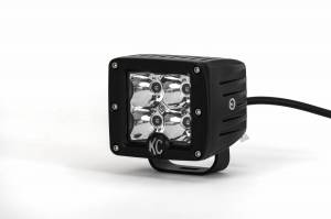 "KC HiLiTES - KC HiLiTES 3"" C-Series C3 LED Spot with Amber LED Pair Pack System - #315 315"