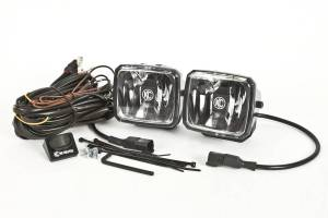 KC HiLiTES Gravity LED G34 Fog Beam SAE/ECE Pair Pack Light System - KC #432 432
