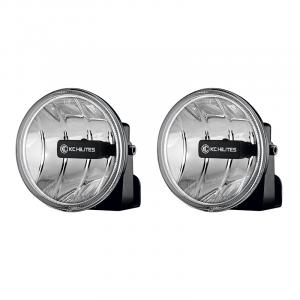 KC HiLiTES Gravity LED G4 Fog Light Pair Pack System #495 - ( Amber Universal ) 495