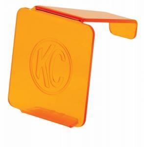 "KC HiLiTES 3"" LZR Cube Lite Shield Cover - Amber - KC #72001 72001"