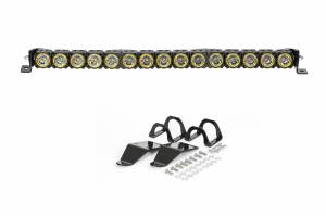"Lighting - Off Road Lights - KC HiLiTES - KC HiLiTES 30"" KC FLEX LED Light Bar Mounting Kit for Polaris RZR - #91322 91322"
