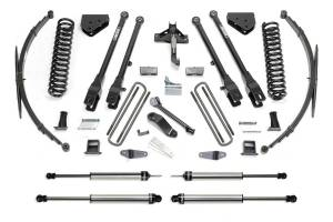Fabtech - Fabtech 10in. 4LINK SYS W/COILS/DLSS SHKS 2011-15 FORD F350 4WD K2150DL