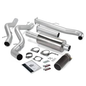 Performance - Exhaust Systems - Banks Power - Banks Power Monster Exhaust System, Single Exit, Black Tip 48629-B