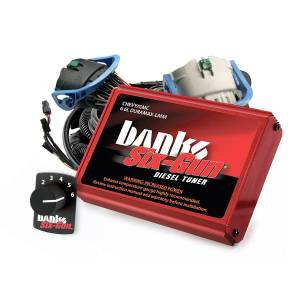 Performance - Chips & Tuners - Banks Power - Banks Power Six-Gun Diesel Tuner with Switch 63887
