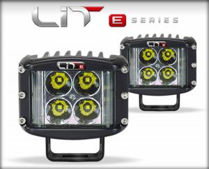 Lighting - Off Road Lights - DiabloSport - DiabloSport LIT E-Series Wide Shot Pod Pair 5 Watt Flood 71091