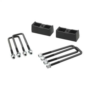 Pro Comp Suspension - Pro Comp Suspension 2 Inch Rear Lift Block With U-Bolt Kit 63202
