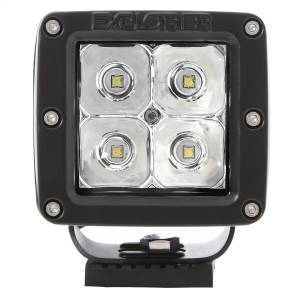Pro Comp Suspension - Pro Comp Suspension 2X2 Square 3W Led Pair S4 Gen2 Spot Pattern 76407P