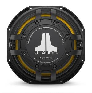 JL Audio - JL Audio 10TW1-2 10-inch (250 mm) Subwoofer Driver, 2 ohm - Image 5