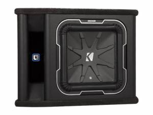 "Kicker - kicker 12"" L7 2 ohm Loaded Enclosure - Image 1"