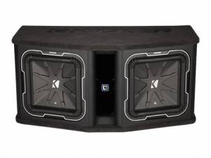 "Kicker - kicker Dual 12"" L7 2 ohm Loaded Enclosure - Image 2"