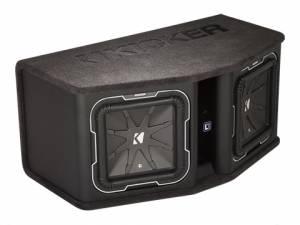 "Kicker - kicker Dual 12"" L7 2 ohm Loaded Enclosure - Image 4"