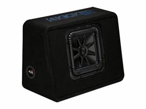 "Car Audio - Loaded Enclosures - Kicker - kicker Single 10"" Solo-Baric L7S Enclosure"