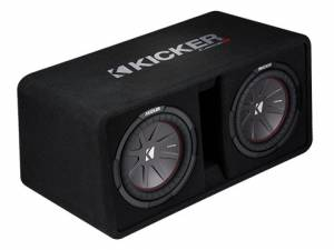 """Kicker - kicker Dual 10"""" CompR Enclosure - Image 3"""
