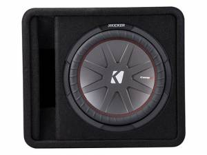 "Car Audio - Loaded Enclosures - Kicker - kicker 12"" CompR Enclosure"